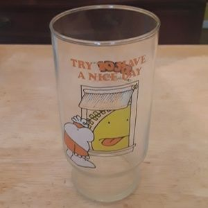 Vintage Ziggy glass from 1979